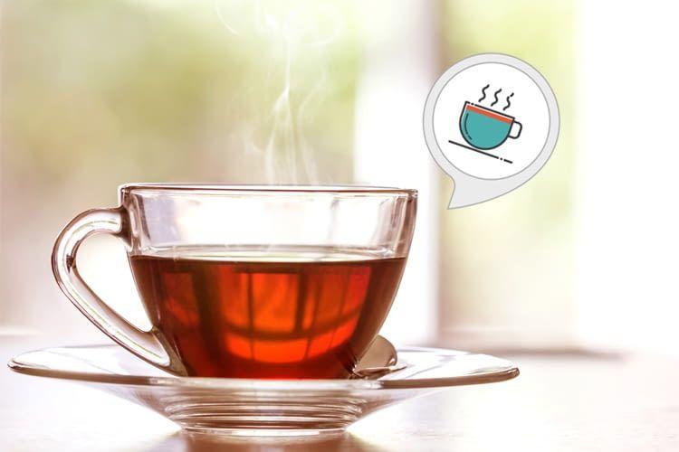 Der Tee Helfer-Skill weiß, wie lange jede Teesorte ziehen muss