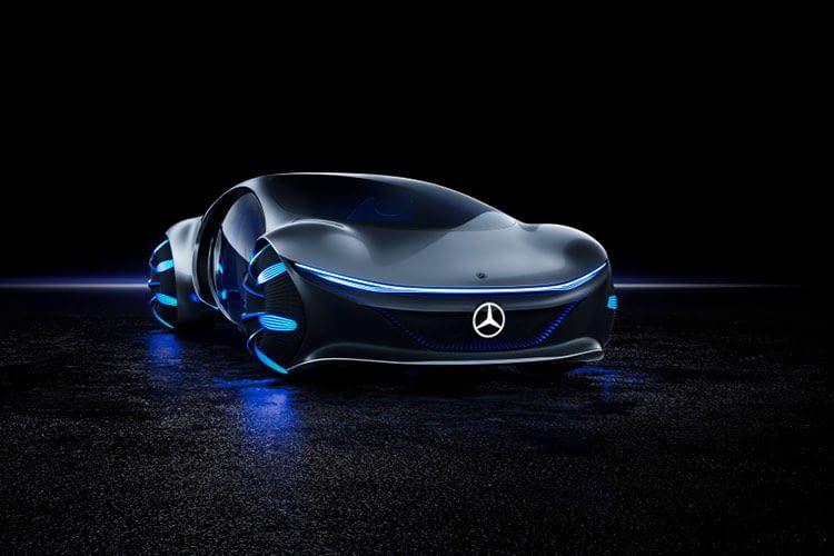 Das Auto der Zukunft VISION AVTR von Mercedes-Benz begeistert auf der CES 2020