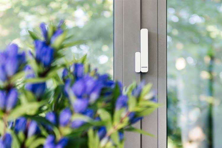 Fensterkontakte mit Magnet wie dieser sind ab etwa 30 Euro im Handel erhältlich