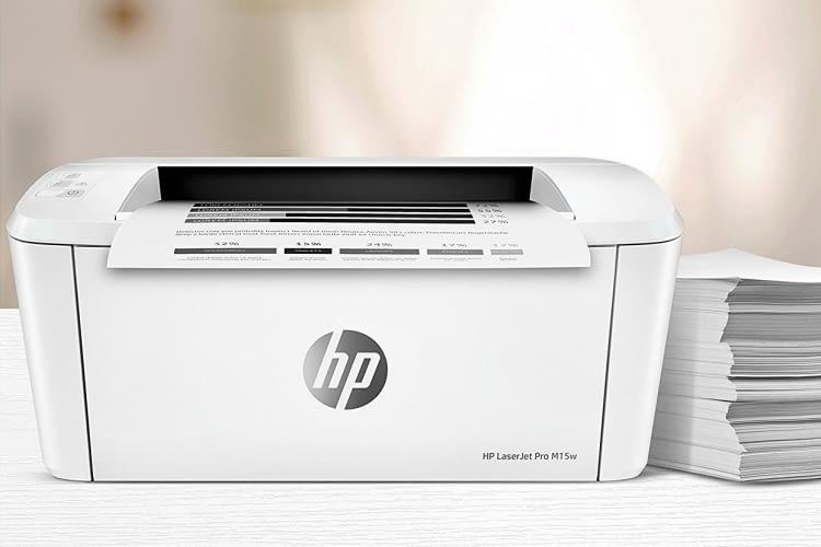 Kompakt und arbeitsfreudig: Der Mono-Laserdrucker HP LaserJet Pro M15w