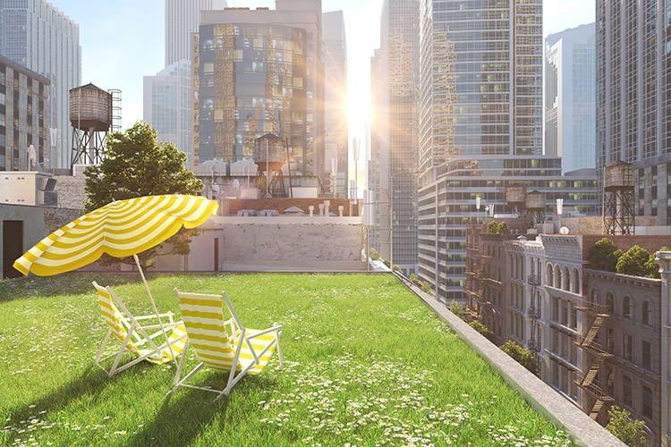 Das Start-up roofSec hat ein smartes Monitoring-System für den Nässeschutz von Flachdächern entwickelt