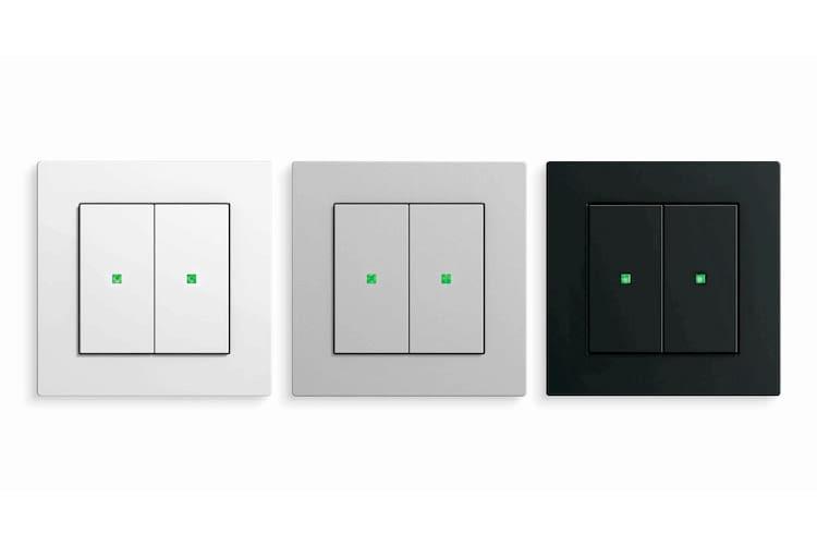 Die Gira KNX Taster eignen sich sowohl für Privaträume als auch für öffentliche Gebäude