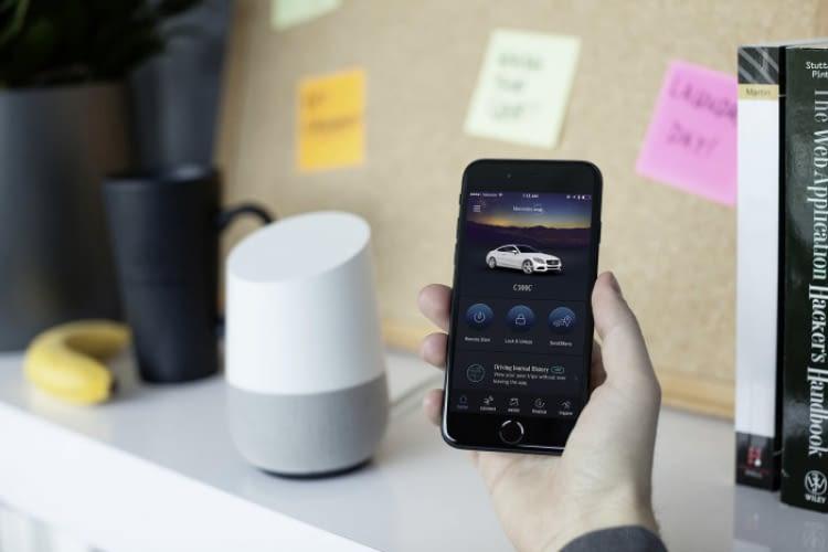 Das beste aus beiden Welten - Google Assistant und Alexa im Mercedes