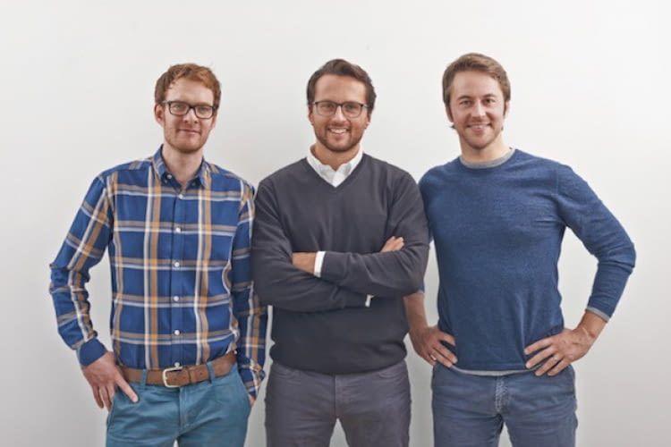 Die Gründer von Polarstern. v.l.n.r.: Simon Stadler, Jakob Assmann, Florian Henle