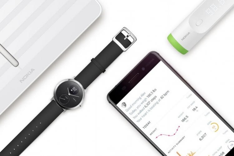 Withings-Produkte gehen nach der Übernahme durch Nokia 2016 nun auch dem Namen nach in Nokia Health über