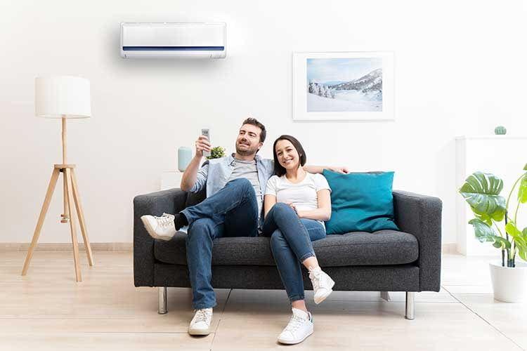 Relaxen statt schwitzen - mit einer Split Klimaanlage Nachrüstlösung kann der Sommer kommen