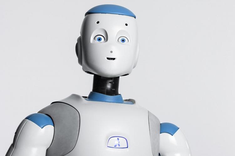 Abbildung des Romeo Roboter