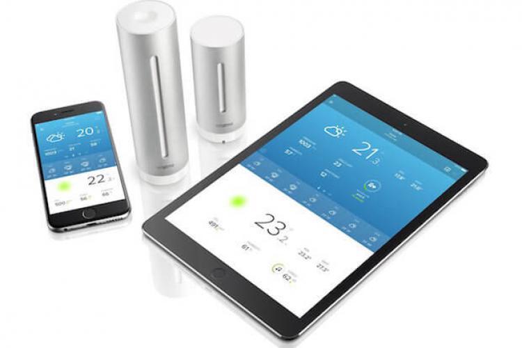Netatmo Wetterstation für iOS-Geräte: iPhone und iPad