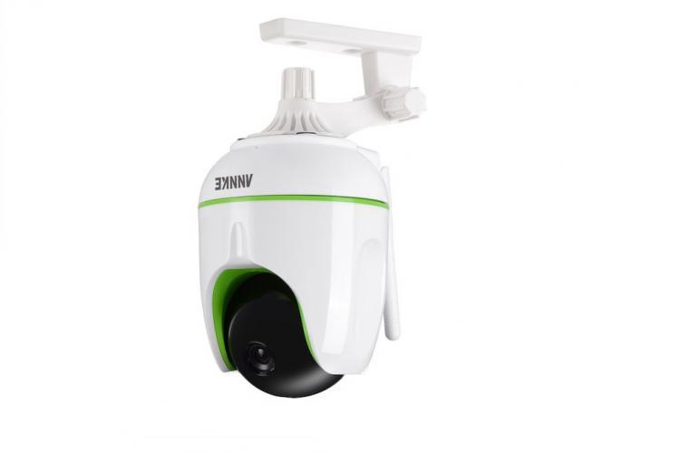 Die Annke SP3 HD-IP Überwachungskamera arbeitet mit WLAN + Nachtsicht
