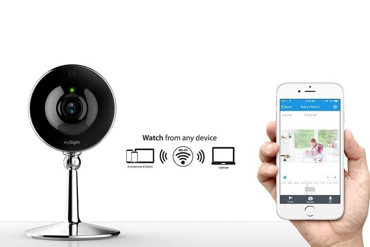 Die iLuv mySight Wi-Fi Kamera macht jedes Zuhause sicherer