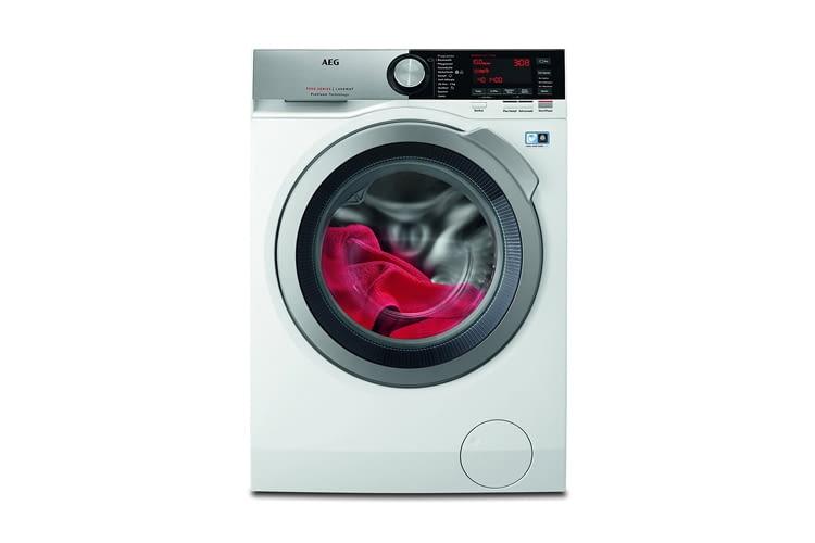 Die AEG L7FE86404 Waschmaschine Hat Ein Integriertes Dampfprogramm