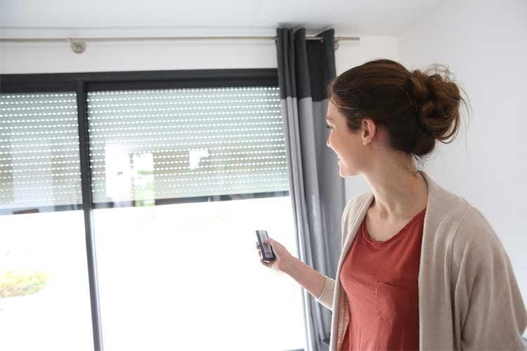 Eine elektrische Rollladensteuerung ermöglicht viel Komfort