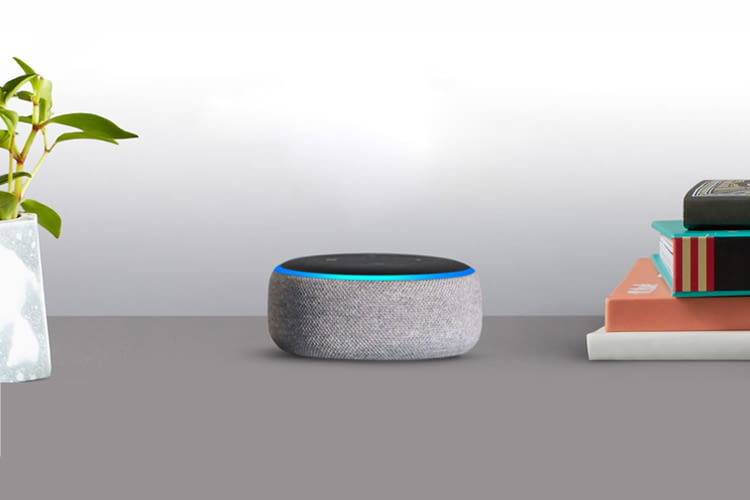 Wer sich gleich zwei Echo Dot 3 Lautsprecher anschafft, spart doppelt