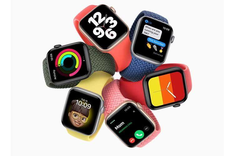 Apple Watch SE - eine Uhr mit vielen Design-Elementen, die sich immer wieder ändern lassen