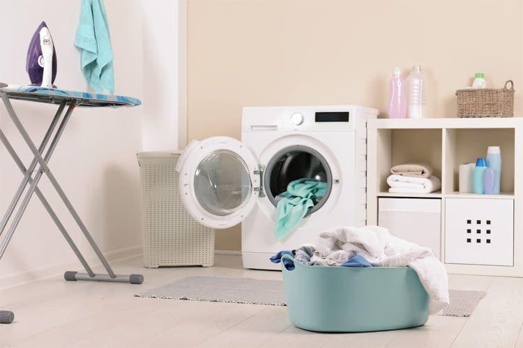 Ein Waschtrockner spart Platz und im Idealfall auch Energie