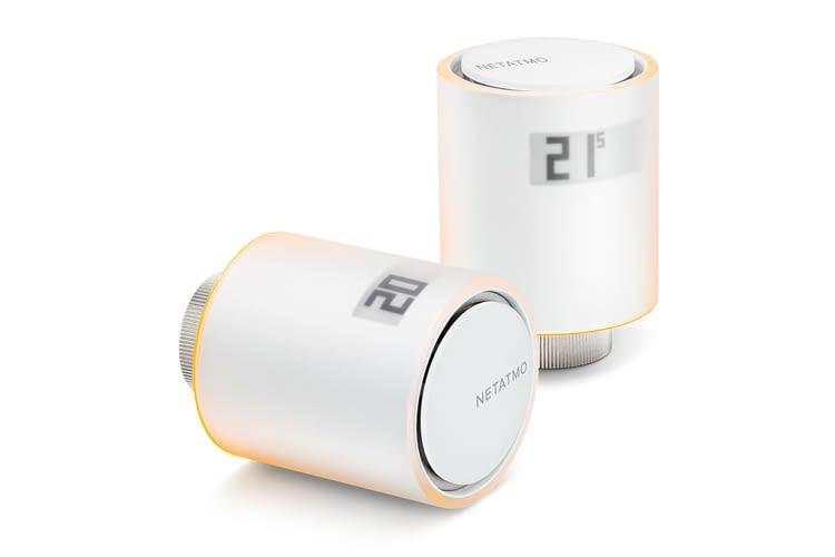 Smartes Heizkörperthermostat von Netatmo mit HomeKit-Unterstützung