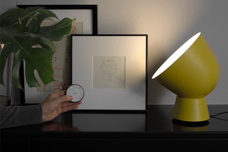 ikea tr dfri fernbedienung einrichten so geht s. Black Bedroom Furniture Sets. Home Design Ideas