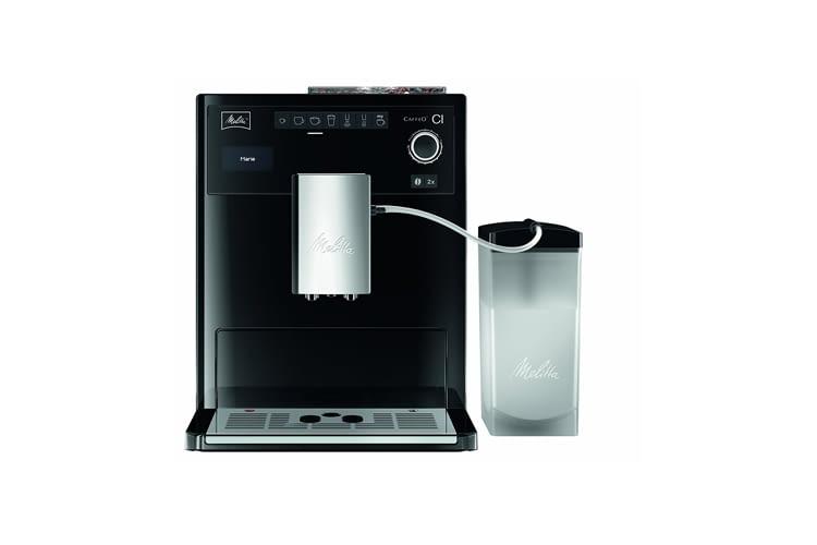 Melitta Caffeo CI E970-103 hat ein entnehmbares Milchsystem mit separatem Milchbehälter
