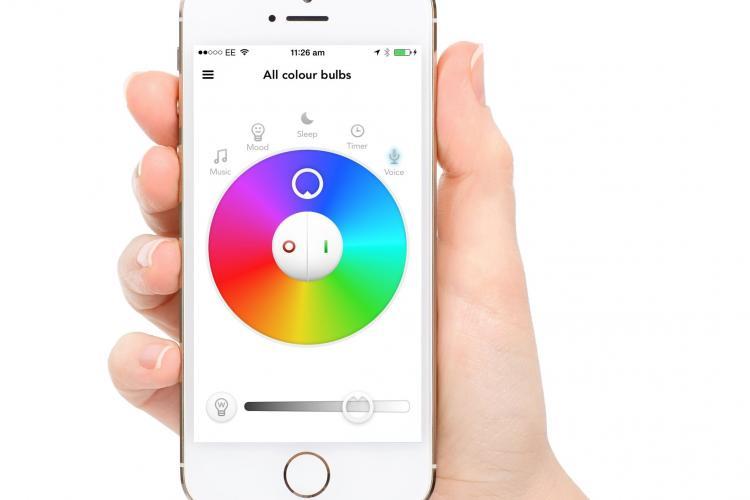 Abbildung der Milight (Mi-Light) LED Lampe mit App-Steuerung