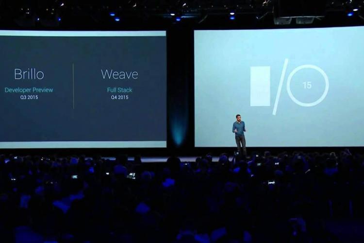 Dialog unter Maschinen: Google arbeitet an der Smart Home Revolution. Brillo und Weave