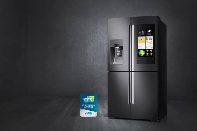 Smarter Kühlschrank @ Samsung