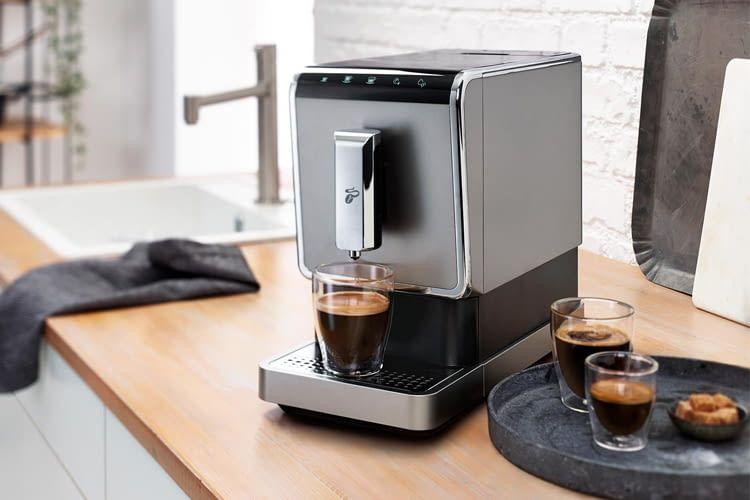 Esperto Caffè wurde laut Hersteller speziell für Tchibo-Kaffee entwickelt
