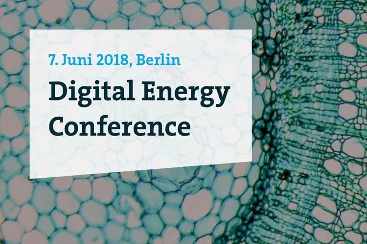 Die Digital Energy Conference in Berlin am 07.06.2018