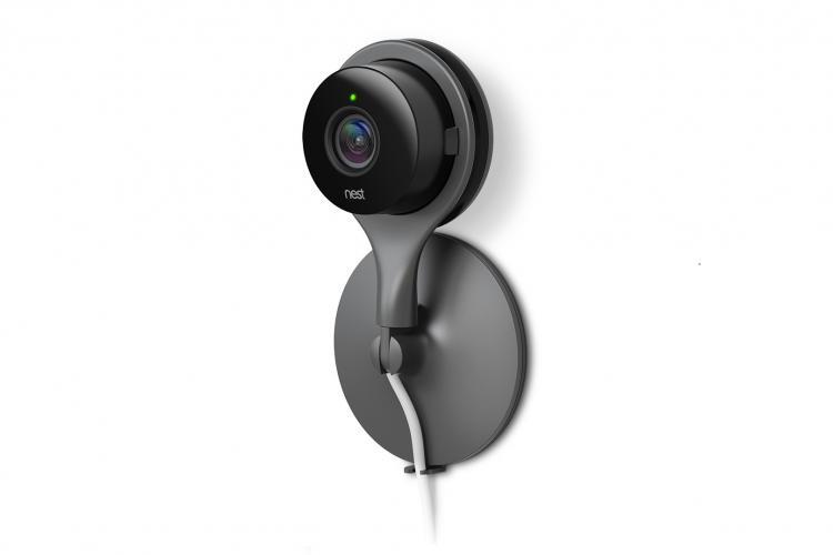 nest cam indoor berwachungskamera von google tochter nest labs. Black Bedroom Furniture Sets. Home Design Ideas