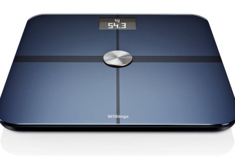 Abbildung der Withings WS-50 Smart Body Analyze Waage