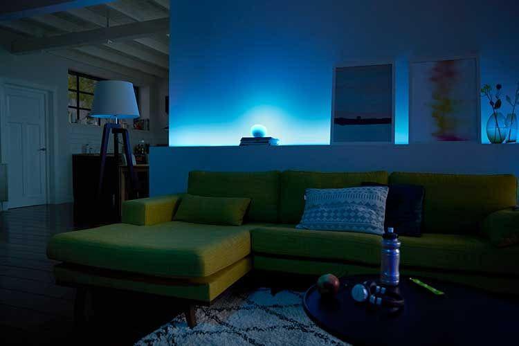 Das Philips Hue Lichtsystem eignet sich perfekt für das DIY Smart Home zum Selberbauen