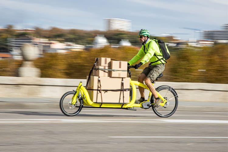 Umweltfreundlich und gesund - ein Lastenfahrrad als Auto-Ersatz