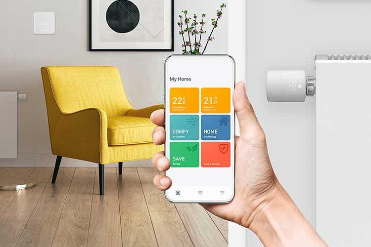 Kompatibel mit HomeKit, Alexa und Google Assistant: appgesteuerte Thermostate von tado°