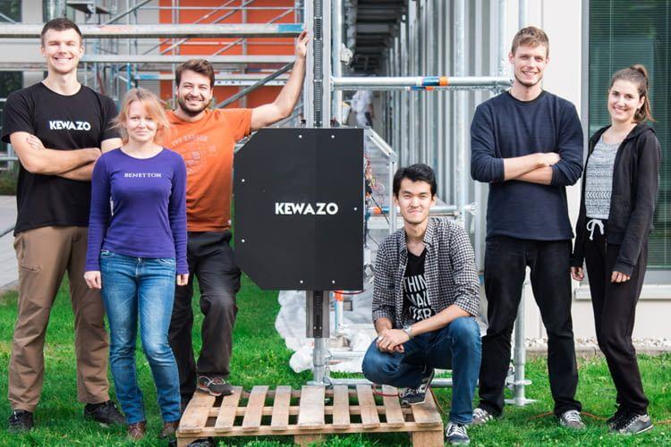 Das Münchner Start-up hat einen Roboter für die Gerüstmontage konzipiert