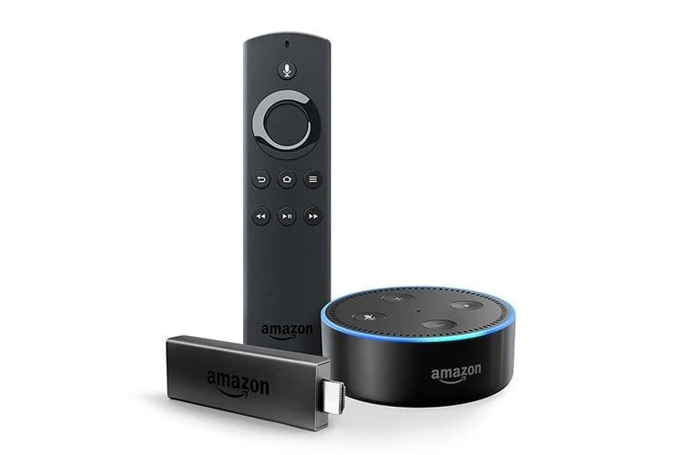 Schnäppchen-Bundle: Amazon Fire TV Stick und Amazon Echo Dot