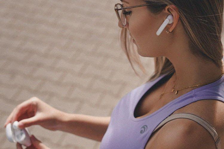 Die Bluetooth In-Ear-Kopfhörer BIK-3 von Maginon sehen den AirPods zum Verwechseln ähnlich