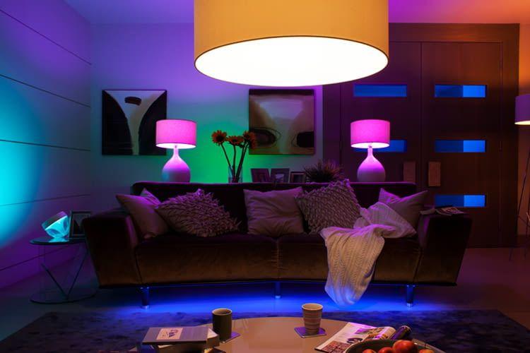philips hue mit musik synchronisieren so geht 39 s. Black Bedroom Furniture Sets. Home Design Ideas