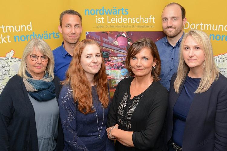"""Team der Koordinierungsstelle """"Nordwärts"""""""