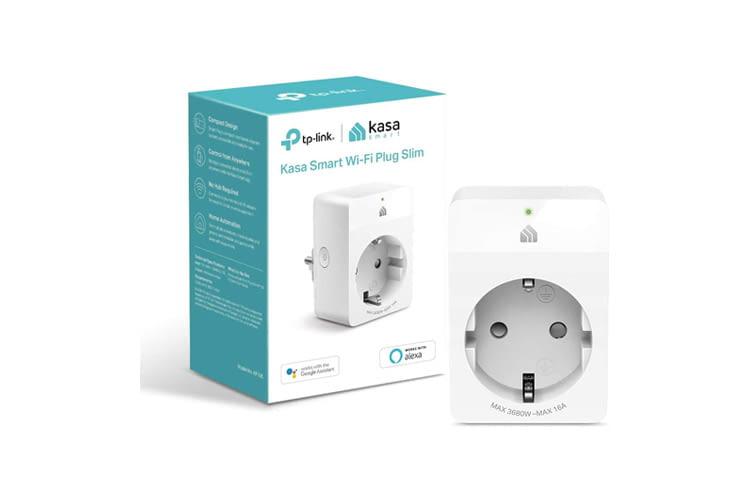 TP-Link Kasa KP105 ist eine leistungsstarke WLAN-Steckdose mit Sprachsteuerungs-Option