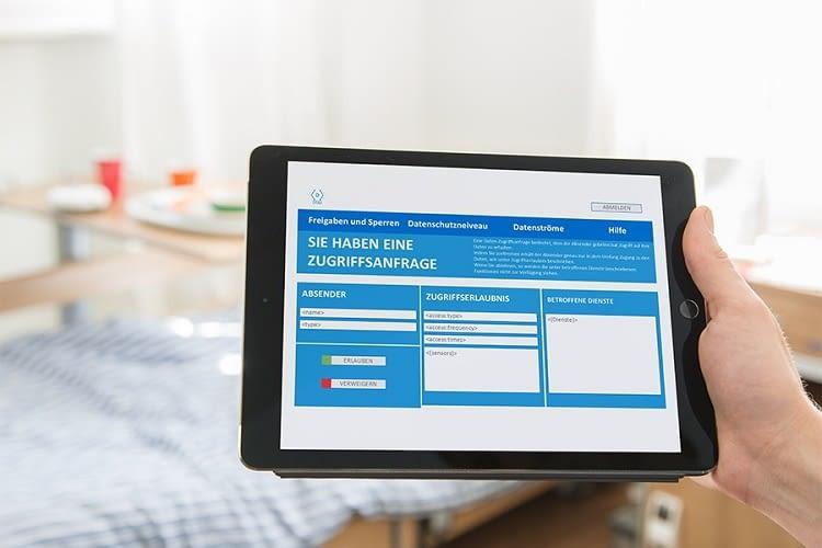 Projekt SHODAN: Die Weboberfläche kontrolliert Datenströme für mehr Sicherheit im Smart Home