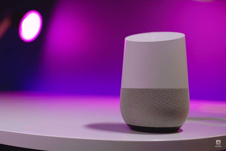 Philips Hue Lichtszenen können auch via Google Home und Google Assistant angesteuert werden