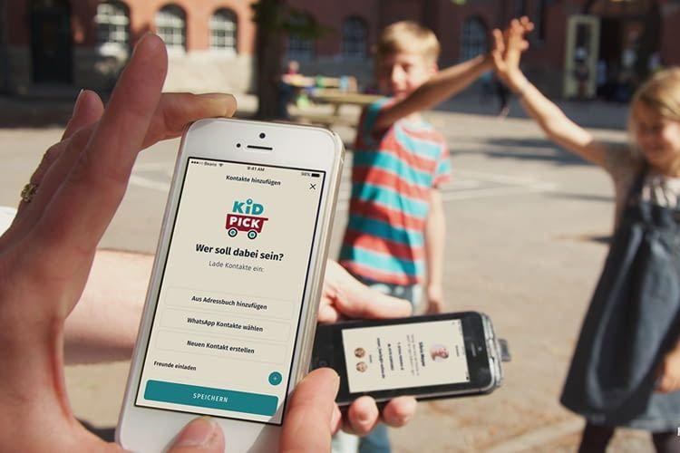 Kidpick: Mobile Netzwerk-App für smarte Eltern