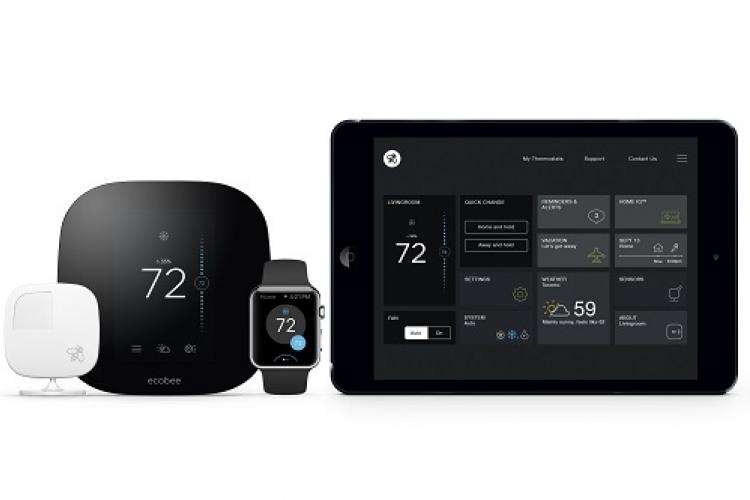 ecobee3 Familie smarter W-Lan Thermostat