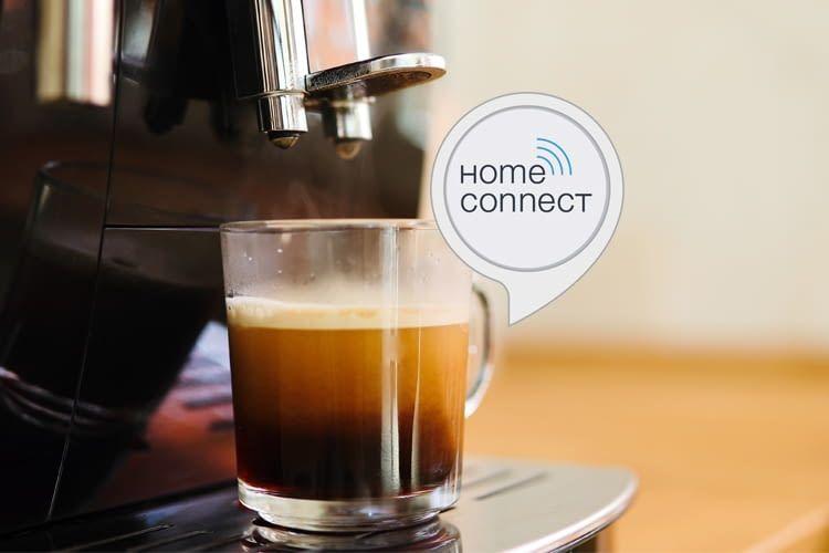 Kaffee auf Zuruf bereitet Alexa über kompatible Bosch und Siemens Modelle zu