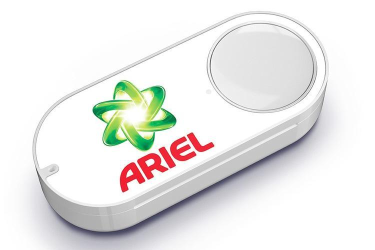 Amazon Dash Button Beispiel: ARIEL - Waschmittel per Knopfdruck bestellen