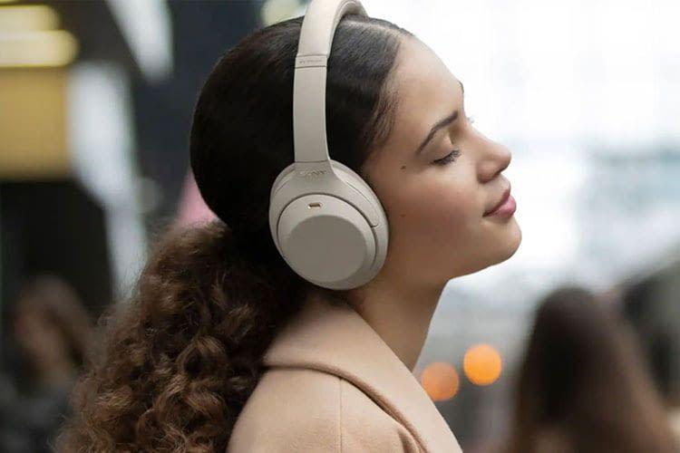 Musikliebhaber erhalten mit den Sony Kopfhörer WH-1000XM4 ein tolles Sounderlebnis