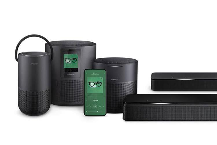 Bose bietet intelligente Lautsprecher und Soundbars, die sich zu einem Multiroom System erweitern lassen