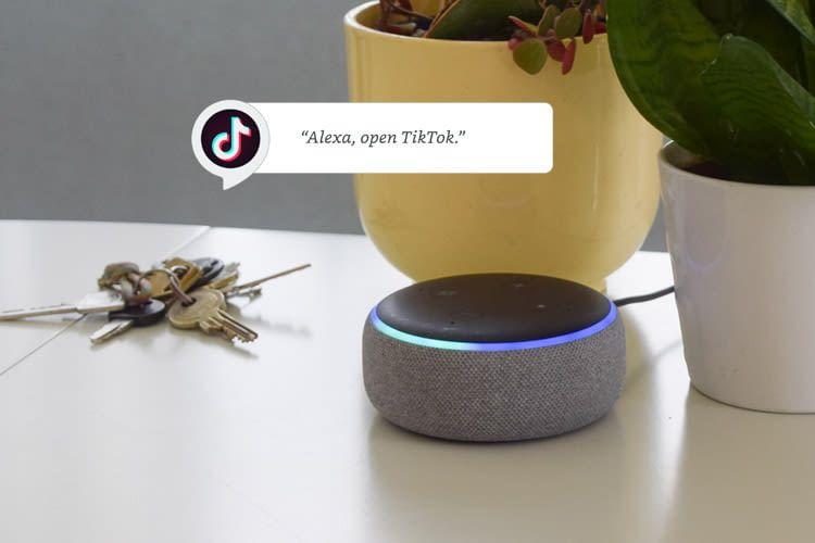 Alexa kann die TikTok App steuern