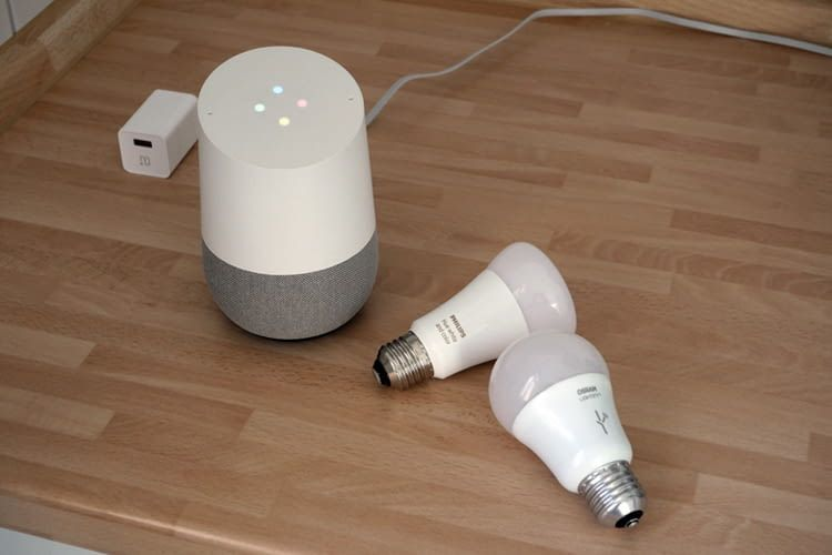 google home mit smart home ger ten verbinden. Black Bedroom Furniture Sets. Home Design Ideas
