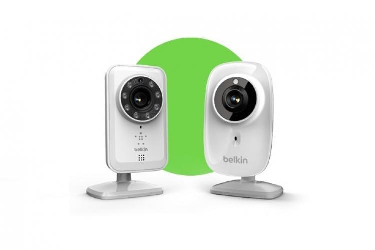 Belkin NetCam HD WLAN-Kamera mit Nachtsichtfunktion