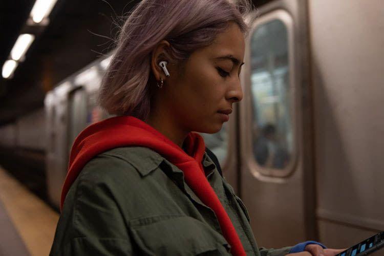 Die Apple AirPods Pro In Ear Kopfhörer bieten eine praktische Geräuschunterdrückung